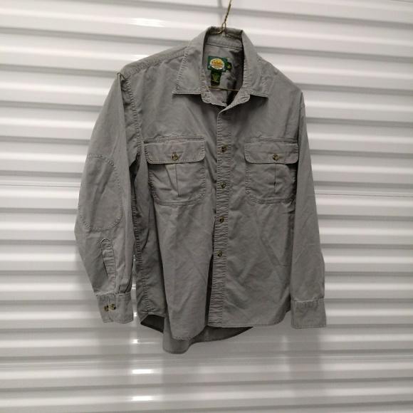 Cabela's Other - Cabelas Cotton Distressed Mens Shirt Size Med Reg